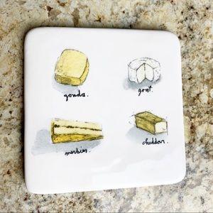 Rae Dunn Cheese Tray Small 4 Cheeses HTF